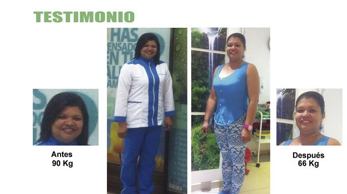 testimonio perdida de peso